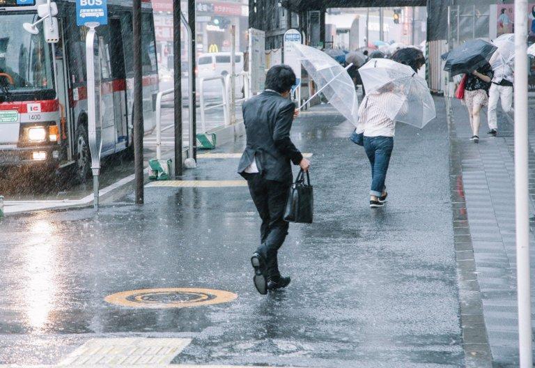 夕立 ゲリラ豪雨