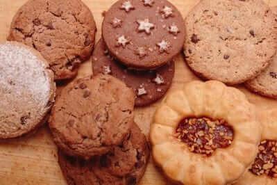 クッキーとビスケット