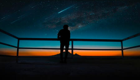流星と彗星